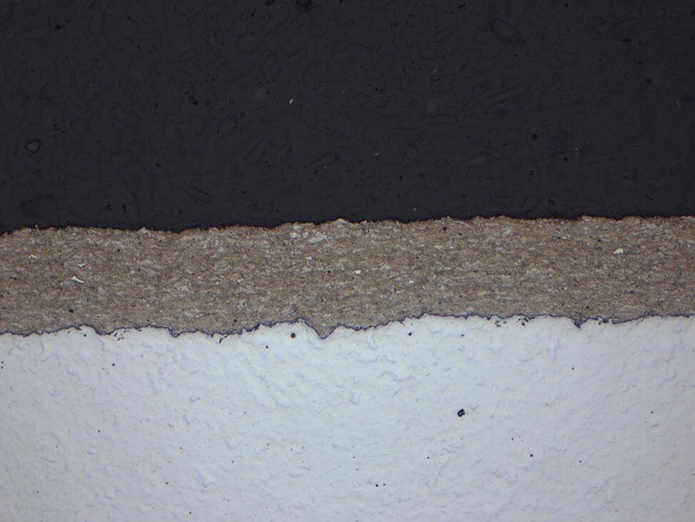 Hardness testing on HVOF coatings